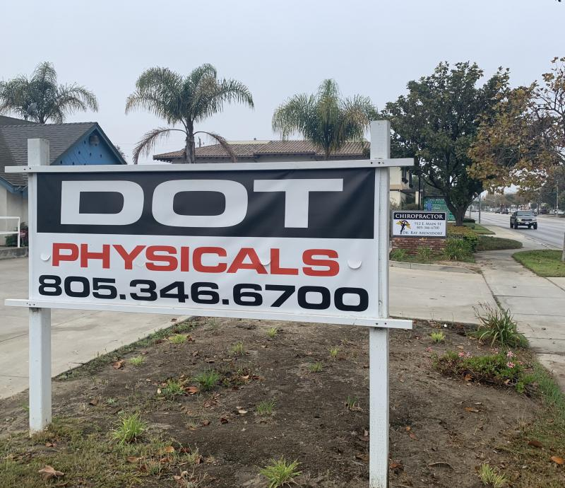 DOT Physical Exams in Santa Maria by your Santa Maria Chiropractor